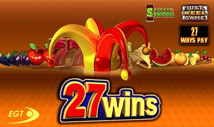 27 wins slot EGT